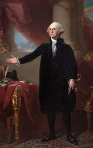 George Washington (The Lansdowne Portrait) by Gilbert Stuart