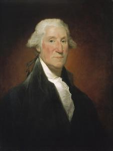 George Washington (Vaughan portrait), 1795 by Gilbert Stuart