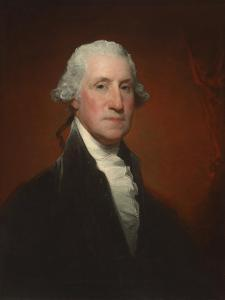 George Washington (Vaughan-Sinclair portrait), 1795 by Gilbert Stuart
