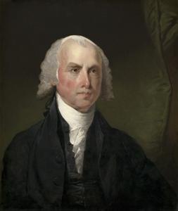 James Madison , 1821 by Gilbert Stuart