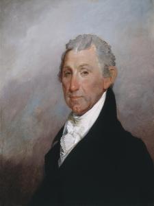 James Monroe, c.1817 by Gilbert Stuart