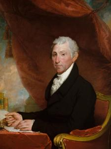 James Monroe, c.1820-22 by Gilbert Stuart