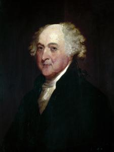 John Adams (1735-1826) by Gilbert Stuart