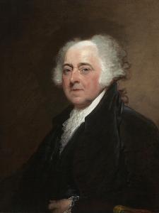 John Adams c.1800-15 by Gilbert Stuart
