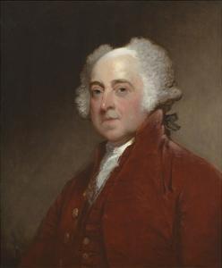 John Adams, C. 1800-15 by Gilbert Stuart