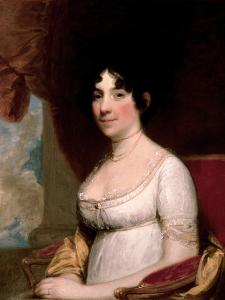 Mrs. Dolley Madison, 1804 by Gilbert Stuart