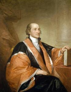 Portrait of John Jay by Gilbert Stuart