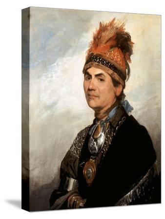 Portrait of Mohawk Chief Joseph Brant
