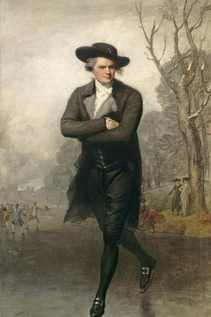 The Skater (Portrait of William Grant), 1782
