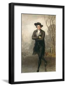 The Skater (Portrait of William Grant), 1782 by Gilbert Stuart