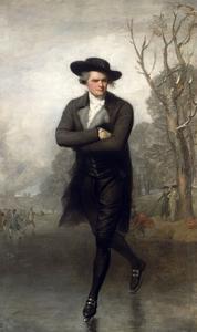 The Skater (Portrait of William Grant) by Gilbert Stuart