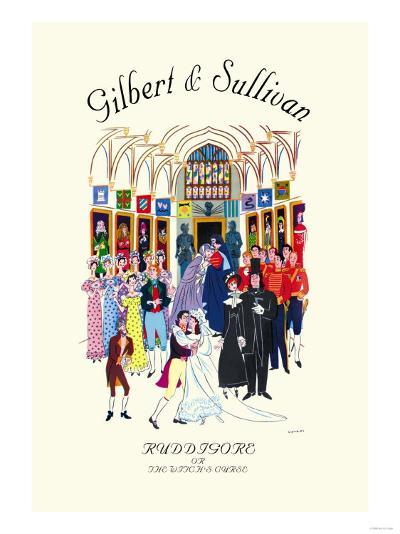 Gilbert & Sullivan: Ruddigore, or The Witch's Curse--Art Print