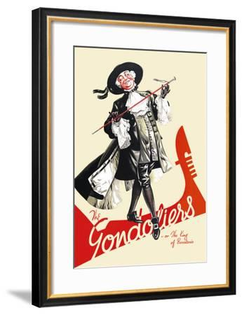 Gilbert & Sullivan: The Gondoliers, or The King of Barataria--Framed Art Print