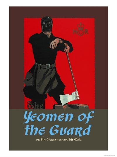 Gilbert & Sullivan: The Yeomen of the Guard (The Executioner)-Dudley Hardy-Art Print