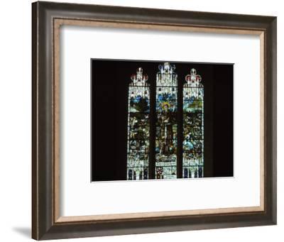 Gilbert White Memorial Window, Selborne Church, Hampshire, 20th century-CM Dixon-Framed Photographic Print