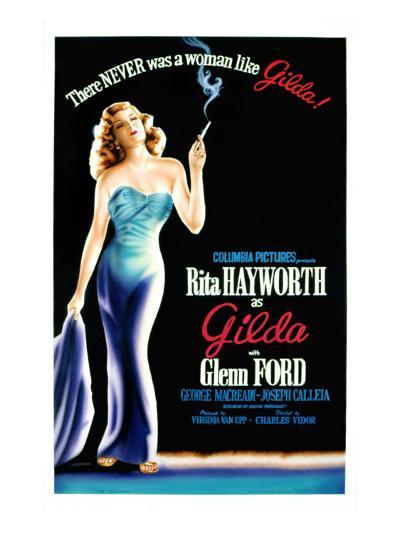 Gilda, Rita Hayworth, 1946--Photo