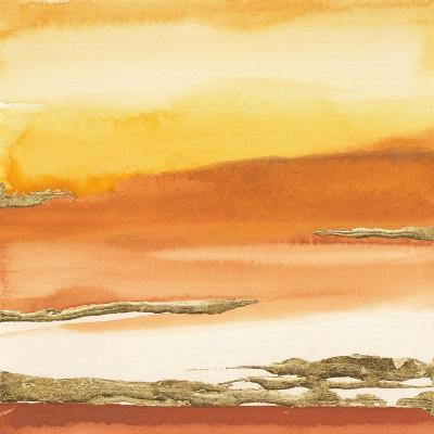 Gilded Amber I V2-Chris Paschke-Art Print