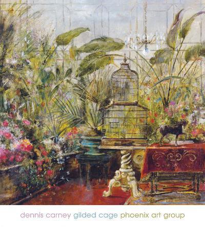 Gilded Cage-Dennis Carney-Art Print