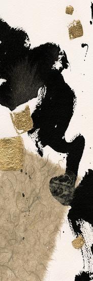 Gilded Collage I on White-Chris Paschke-Art Print