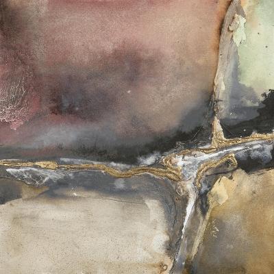 Gilded Crevice 1-Chris Paschke-Premium Giclee Print