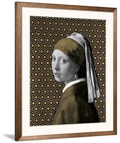 Gilded Earring (after Jan Vermeer)-Eccentric Accents-Framed Giclee Print
