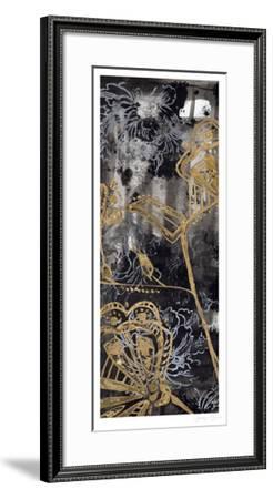 Gilded Fleur I-Jennifer Goldberger-Framed Limited Edition