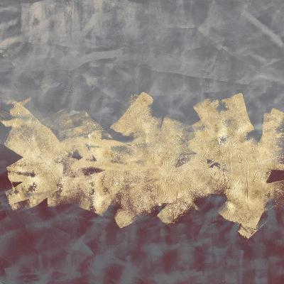 Gilded Fresco II-Jennifer Goldberger-Hand Embellished Art