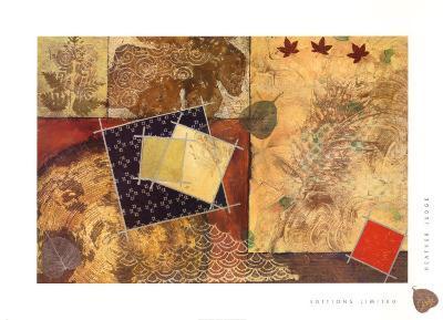 Gilded Leaf I-Heather Judge-Art Print