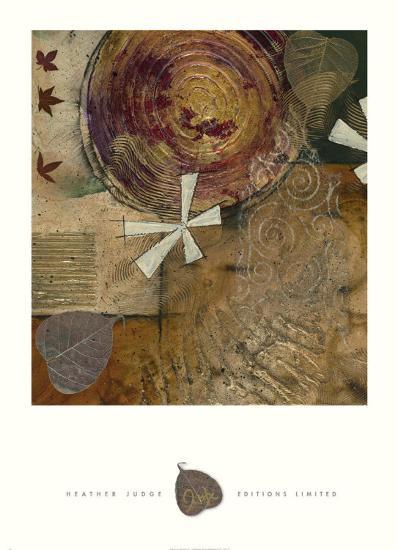Gilded Leaf IV-Heather Judge-Art Print