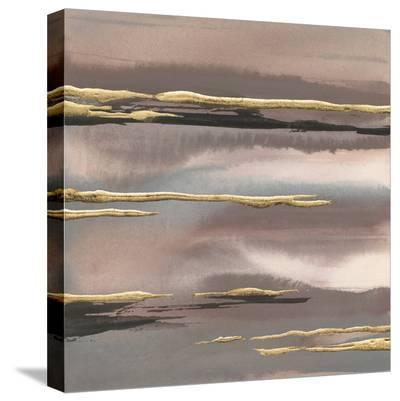 Gilded Morning Fog I Gold-Chris Paschke-Stretched Canvas Print