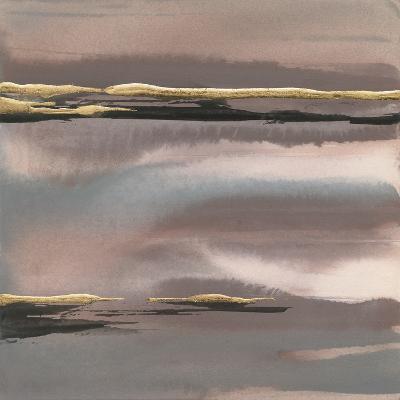 Gilded Morning Fog I-Chris Paschke-Art Print