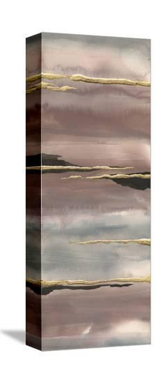 Gilded Morning Fog III Gold-Chris Paschke-Stretched Canvas Print