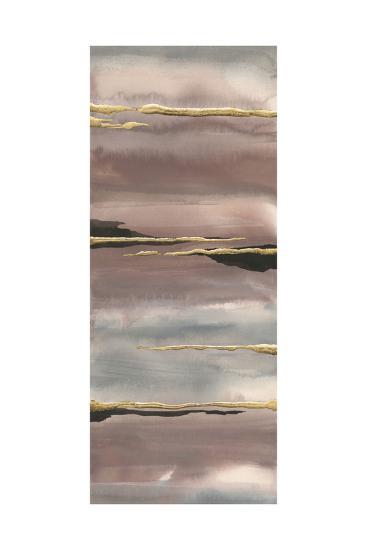 Gilded Morning Fog III Gold-Chris Paschke-Art Print