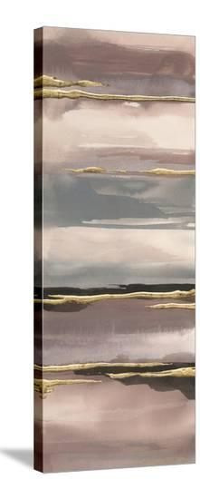Gilded Morning Fog IV Gold-Chris Paschke-Stretched Canvas Print