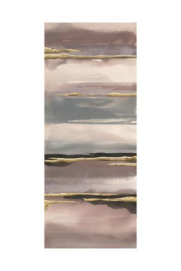 Gilded Morning Fog IV Gold-Chris Paschke-Art Print