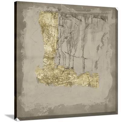 Gilded Neutral Ravine III-Jennifer Goldberger-Stretched Canvas Print