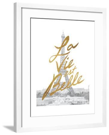 Gilded Paris-Moira Hershey-Framed Art Print