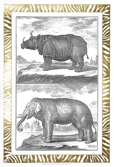 Gilded Safari I-Denis Diderot-Art Print