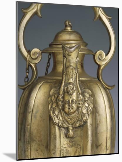 Gilded Silver Pitcher, 1618-1623-Cornelio Ghiretti-Mounted Premium Giclee Print