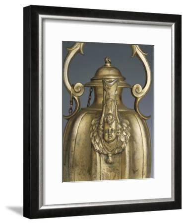 Gilded Silver Pitcher, 1618-1623-Cornelio Ghiretti-Framed Giclee Print