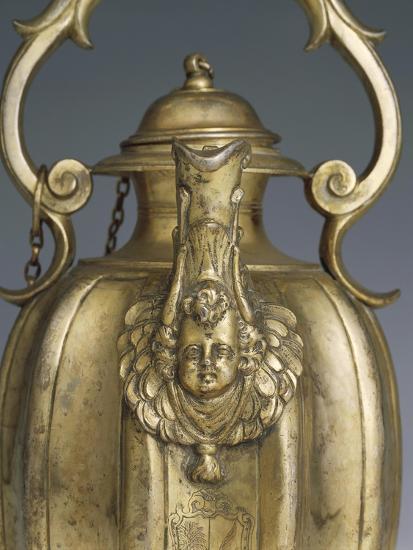 Gilded Silver Pitcher, 1618-1623-Cornelio Ghiretti-Giclee Print