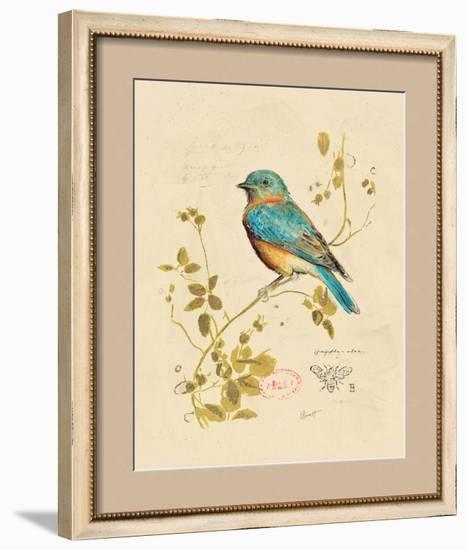 Gilded Songbird 4-Chad Barrett-Framed Art Print