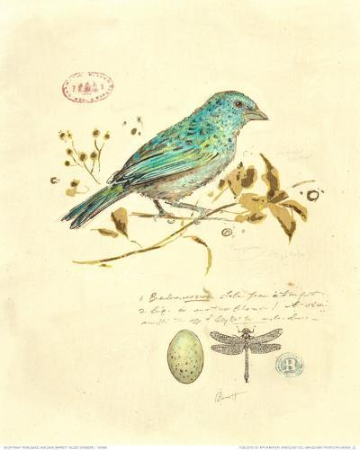 Gilded Songbird I-Chad Barrett-Art Print