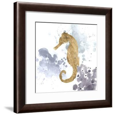 Gilded Splash V-Grace Popp-Framed Art Print