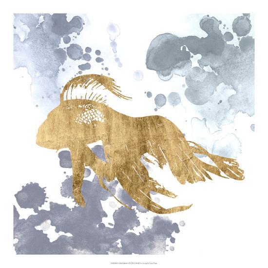 Gilded Splash VII-Grace Popp-Art Print