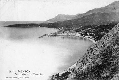 Menton, France, 1902