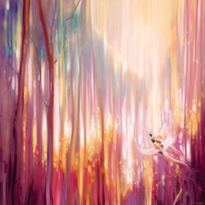 Nebulous Forest by Gill Bustamante