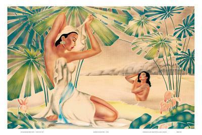 Hawaiian Bathing Beauties c.1930s