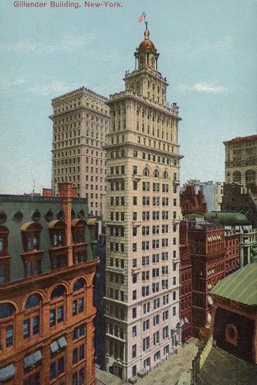Gillender Building, New York City, USA--Photographic Print