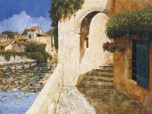 View of the Harbor by Gilles Archambault